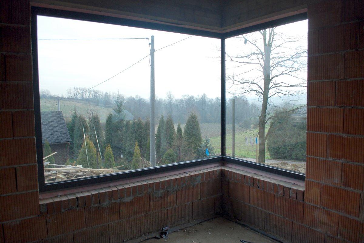 Okno Narożne Klejone Oknoplus