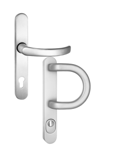 Single handle with a handrail