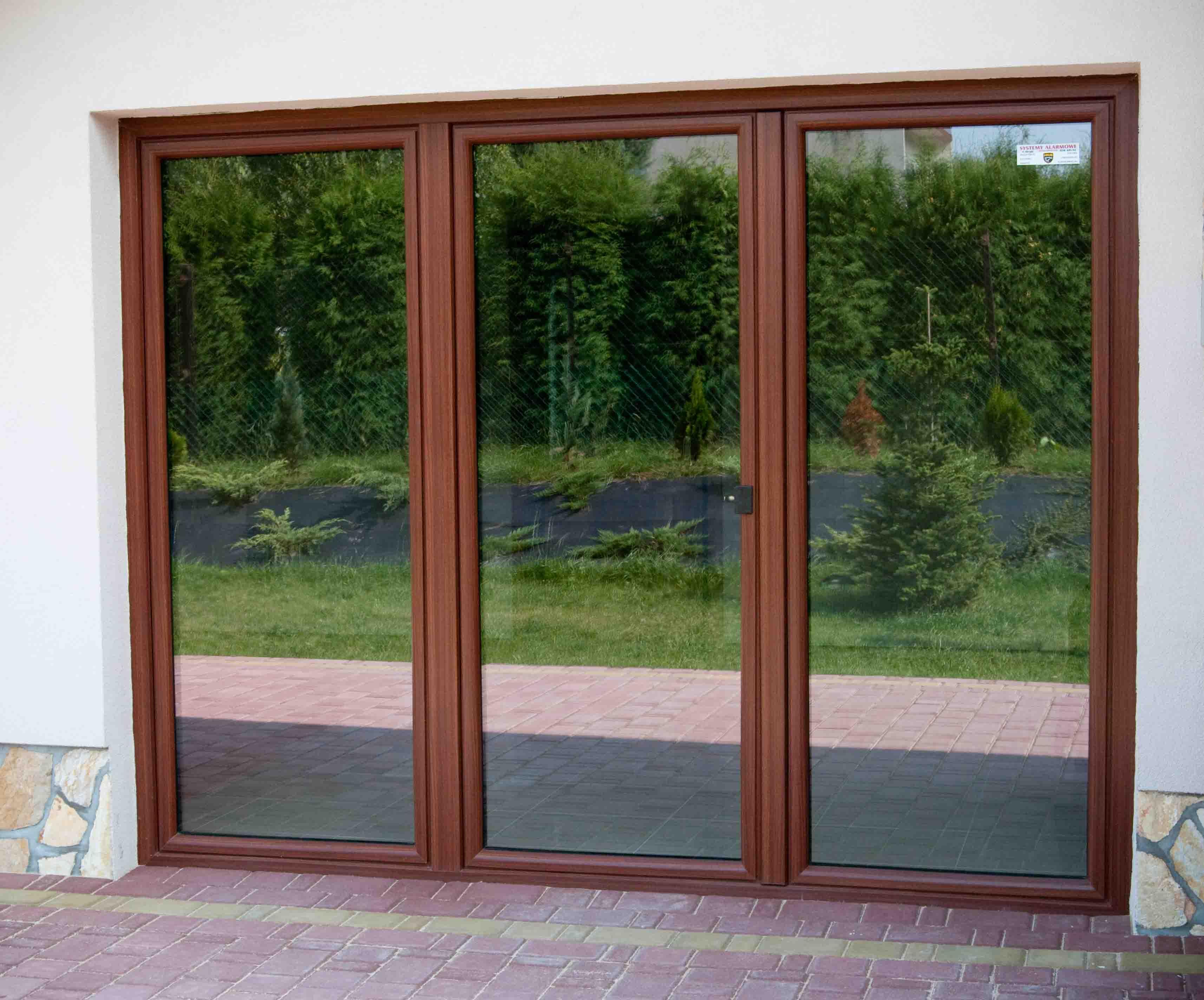 Drzwi Balkonowe Tarasowe Classic Okno Tarasowe Oknoplus